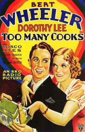 Too Many Cooks (film) - Theatrical release poster