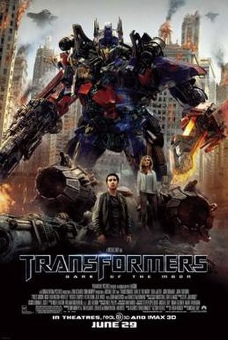 Transformers: Dark of the Moon - Theatrical release poster