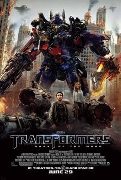 Picture of a movie: Transformers: Dark Of The Moon