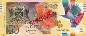 Trinidad and Tobago dollar - Trinidad and Tobago revised 50 Dollar bill 2014