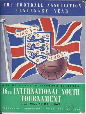 1963 UEFA European Under-18 Championship - Image: UEFA European Under 18 Championship