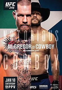 UFC 246 Conor McGregor vs Donald Cerrone (2020)