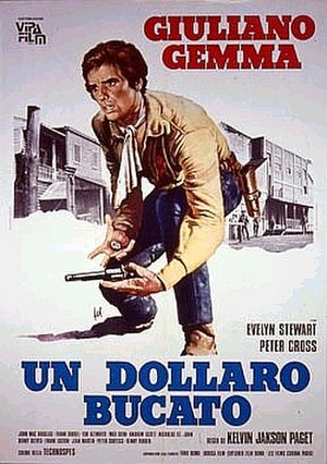 Blood for a Silver Dollar - Italian theatrical film poster