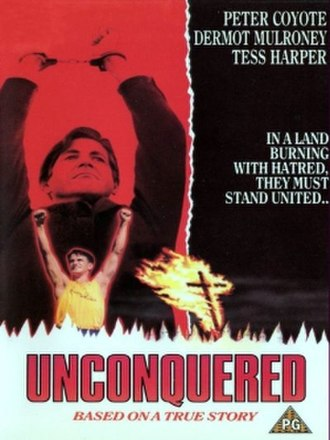Unconquered (1989 film) - DVD cover