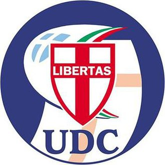 Union of the Centre (2002) - Image: Unione dei Democratici Cristiani e di Centro (logo, 2002 2006)