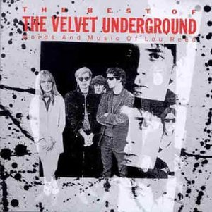 The Best of The Velvet Underground: Words and Music of Lou Reed - Image: VU Best 89