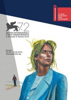 72nd Venice International Film Festival - Festival poster