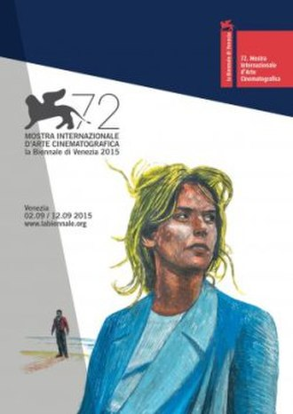 72nd Venice International Film Festival - Festival poster