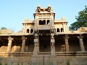 Kanakagiri - Image: Venkatappa Naik royal bath at Kanakagiri