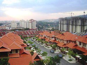 Taman Tun Dr Ismail - Image: View of Bandar Utama from TTDI Datuk Sulaiman, Kuala Lumpur