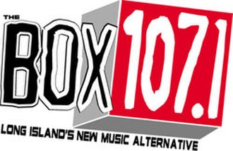"WLIR - The WLIR ""The Box"" logo used during 2004 when the station changed its frequency."