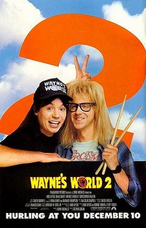 Wayne's World 2 - Theatrical release poster