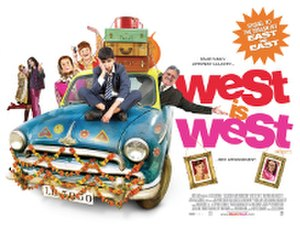 West Is West (2010 film) - Canadian release poster