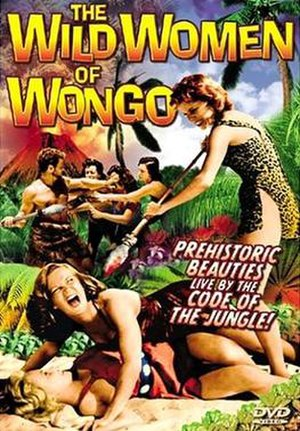 The Wild Women of Wongo - DVD cover