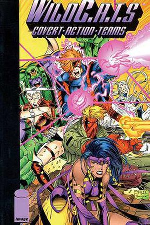 Wildcats (comics) - WildC.A.T.s original team, art by Jim Lee