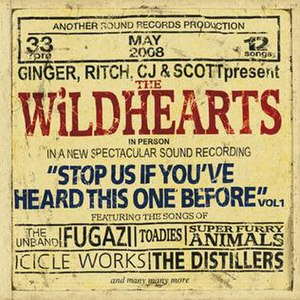 Stop Us If You've Heard This One Before, Vol 1. - Image: Wildhearts Stop Us