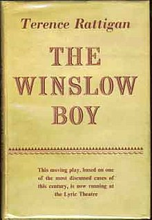 <i>The Winslow Boy</i> play written by Terence Rattigan