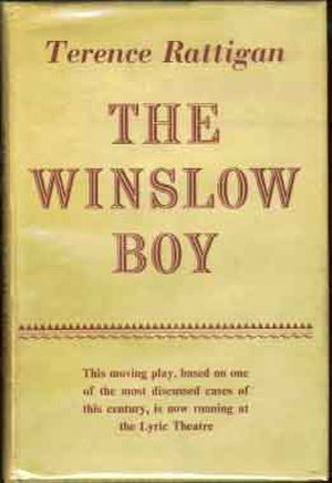The Winslow Boy - First edition (publ. Hamish Hamilton)