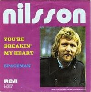 You're Breakin' My Heart - Swiss picture sleeve