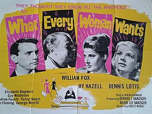What Every Woman Wants (1962 film) - British quad poster