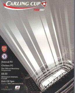 2007 Football League Cup Final Football match