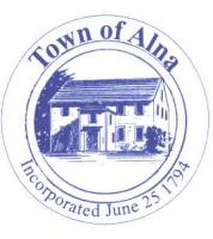 Alna, Maine - Image: 200 Town Seal