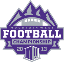 2013 Mountain West Conference Football Championship Game logo.png