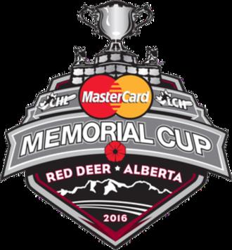 2016 Memorial Cup - Image: 2016 Memorial Cup logo