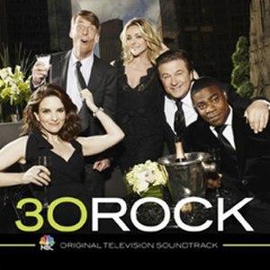30 Rock Original Television Soundtrack - Image: 30rocksoundtrack