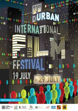 Durban International Film Festival - DIFF2012 Poster