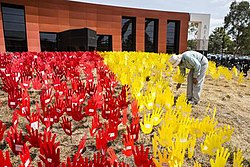 AIATSIS building with the sea of hands.jpg