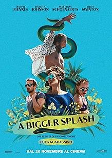 <i>A Bigger Splash</i> (2015 film) 2015 film
