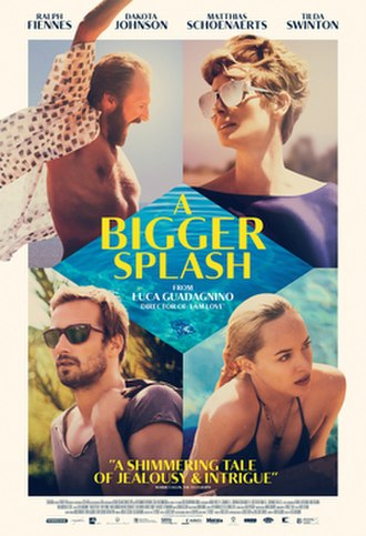 A Bigger Splash (2015 film) - Theatrical release poster