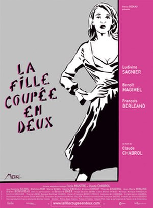 A Girl Cut in Two - French poster