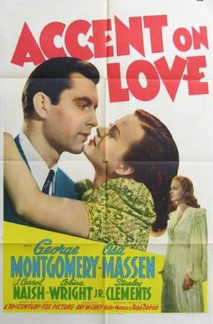 Accent on Love - Theatrical release poster