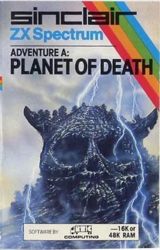 Adventure A: Planet of Death - Image: Adventure A Planet of Death