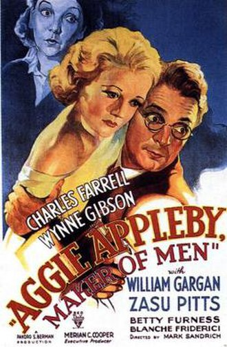 Aggie Appleby, Maker of Men - Theatrical release poster
