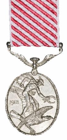Air Force Medal (UK) Reverse