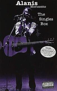 <i>The Singles Box</i> 1997 box set by Alanis Morissette