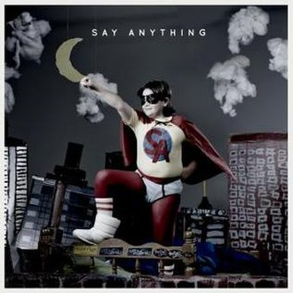 Say Anything (album) - Image: Album Say Anything (Self Titled) Cover
