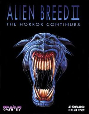 Alien Breed II: The Horror Continues - Image: Alien Breed II The Horror Continues cover
