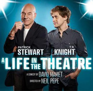 A Life in the Theatre - Poster for the 2010 Broadway Revival
