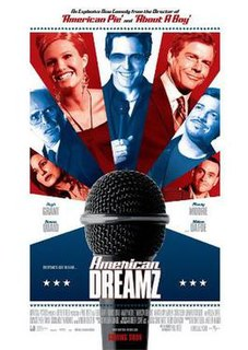 <i>American Dreamz</i> 2006 comedy movie on a television singing contest directed by Paul Weitz