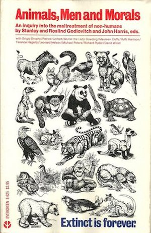 Animals, Men and Morals - Image: Animals, Men and Morals (paperback)