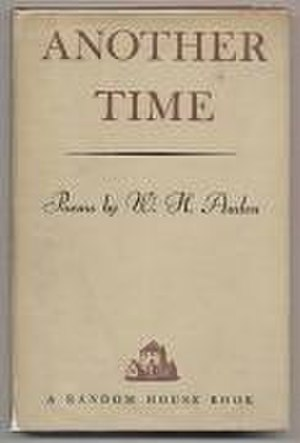 Another Time (book) - First US edition (Random House)
