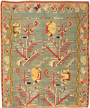 Bessarabian rugs and carpets - An antique Bessarabian rug