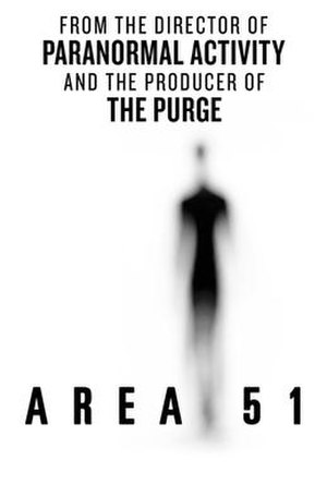 Area 51 (film) - Theatrical poster