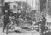 ARVN Rangers moving through western Cholon, 10 May 1968