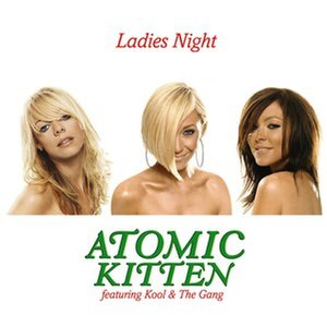 Ladies' Night (song) - Image: Atomic Kitten Ladies Night single cover
