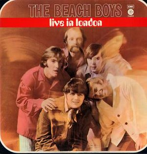 Live in London (The Beach Boys album) - Image: BB Live London Cover